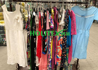 First grade American style second hand clothes , used women's clothing , ladies cotton dress