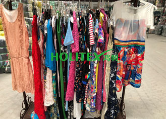 Used women's clothing , ladies cotton dresses , first grade American style second hand clothes