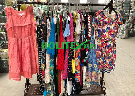 Used women's clothing , ladies cotton dress , top grade second hand clothes for Africa
