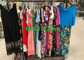 For Africa , used women's clothing , ladies cotton dresses , first grade second hand clothes