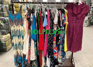 Top grade used women's clothing , ladies cotton dresses , second hand clothes for Southeast Asia