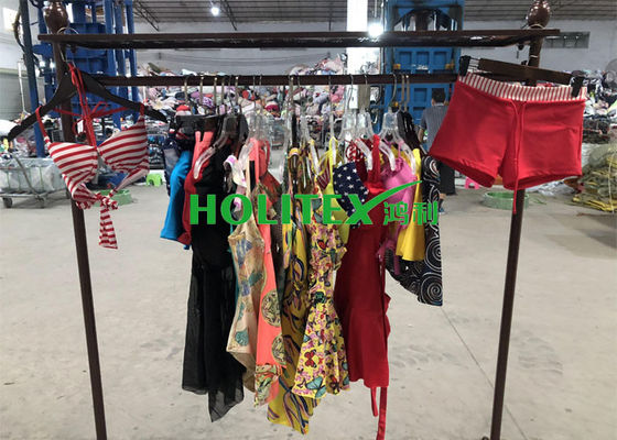 HOLITEX Second Hand Used Clothes / American Style Used Swimwear For Southeast Asia