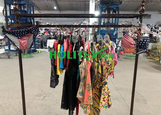 Clean Used Summer Clothes Swimming Wear Japanese Style Polyester Material For Africa
