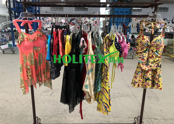Africa Used Summer Clothes American Style Second Hand Swimsuits Polyester Material