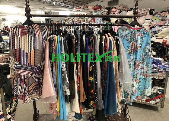 Fashionable Second Hand Ladies Clothes , American Style High Quality Used Clothing