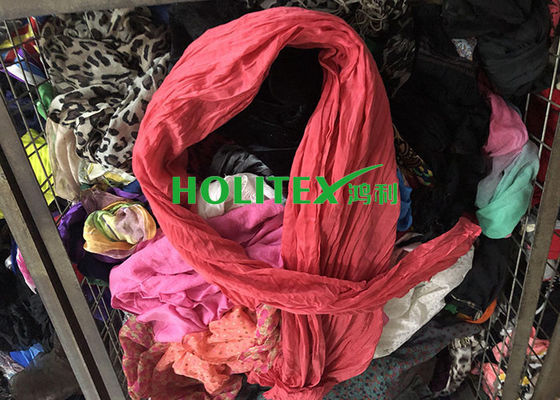 Fashionable Second Hand Scarves Cotton Material Korean Style For Congo