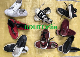 Women Clean Used Canvas Shoes , First Grade Second Hand Clothes Shoes