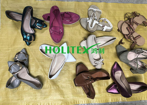 Holitex Used Women'S Shoes Clean / Comfortable Summer Second Hand Sandals