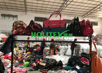 Modern Second Hand Leather Handbags / Used Women Bags For Business Daily