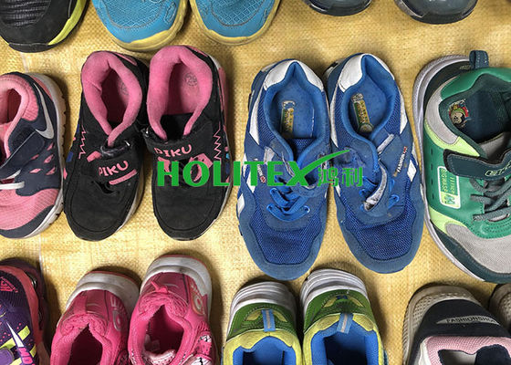 Professional Used Children'S Shoes Comfortable Second Hand Running Shoes For Tanzania