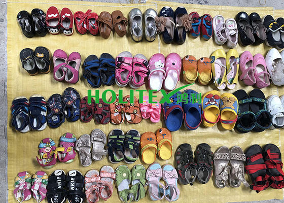 Africa Second Hand Clothes And Shoes / Children Mixed Shoes For All Seasons