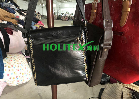 Leather Material Second Hand Bags New York Style Used Mixed Bags Health Certified