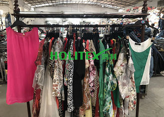 Used Summer Clothes Silk Blouse , Second Hand Branded Clothes For Cambodia