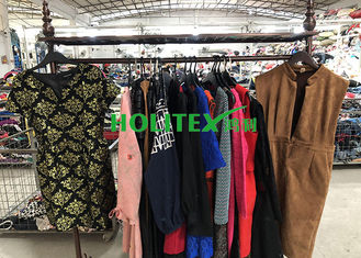 American Style Second Hand Womens Clothing Winter Dresses For Ladies