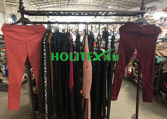 UK Style Used Winter Clothes Mixed Size With Polyester / Cotton Material