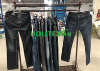 Second Hand Mens Clothing , Korean Style Used Mens Jeans Pants For Southeast Asia