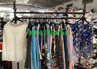 China American style second hand clothes , used women's clothing , first grade ladies silk skirt factory