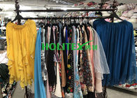 China American style used women's clothing , second hand clothes , first grade ladies silk skirt factory