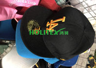 China Summer Second Hand Caps Mixed Size First Grade Colorful 2nd Hand Hats company