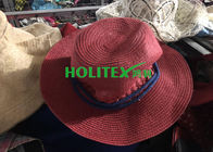 China Colorful 2nd Hand Hats , Mixed Female Used Hats And Caps For All Seasons company