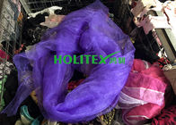 Colorful Used Silk Scarves / American Style Second Hand Silk Scarves