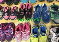 China Children's Second Hand Clothes Shoes / Colorful Used Sports Shoes For Summer factory