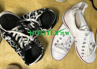 China Wearable Second Hand Clothes And Shoes First Grade Used Canvas Shoes factory