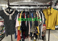 Mixed Size Used Womens Clothing Holitex Colorful Cotton Blouses For Girls