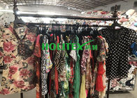 Summer Used Womens Clothing Second Hand Ladies Silk Blouse For Southeast Asia