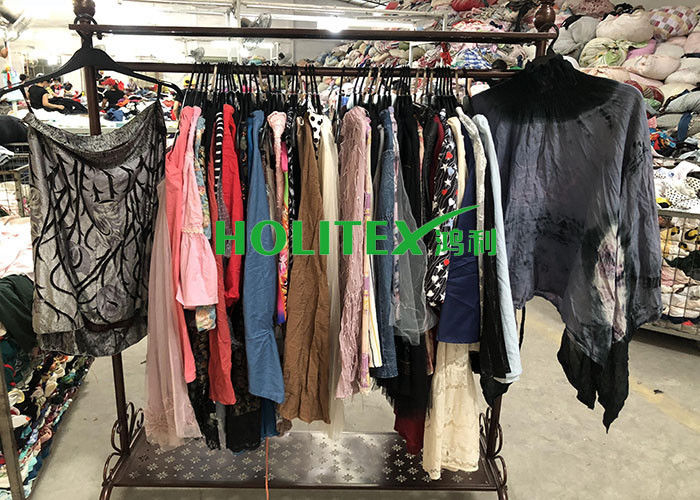 Comfortable Used Summer Clothes Cotton Material Second Hand Skirts For Girls