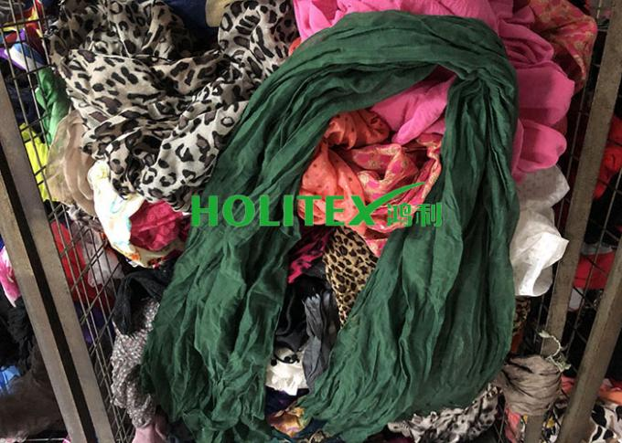 Top Grade Second Hand Scarves American Style Cotton Material For All Seasons